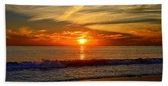 Sunset's Glow  Beach Sheet