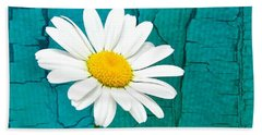 Sunshine Daisy Beach Towel