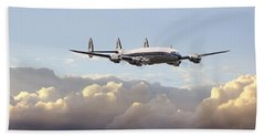 Super Constellation - End Of An Era Beach Towel