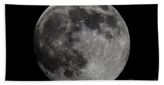 Super Moon 2014 Beach Towel