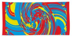 Super Swirl Beach Sheet by Catherine Lott
