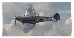 Supermarine Spitfire Beach Towel