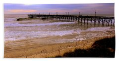 Surf City Pier Beach Towel