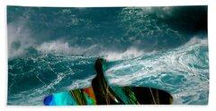 Surf Beach Sheet by Marvin Blaine