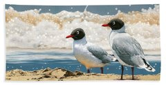 Surf 'n' Turf - Franklin's Gulls Beach Sheet