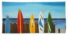 Surf On Beach Towel