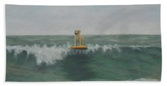 Surfer Lab Beach Towel