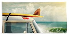 Surfing Way Of Life Beach Towel
