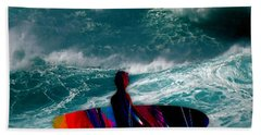 Surfs Up Beach Towel by Marvin Blaine