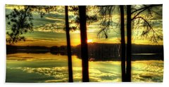 Surreal Lake Beach Sheet