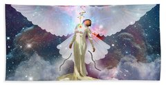 Surrendered Bride Beach Towel