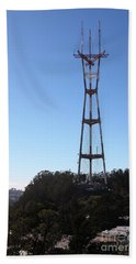 Sutro Tower San Francisco California 5d28061 Beach Towel