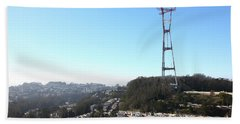 Sutro Tower San Francisco California 5d28068 Beach Towel