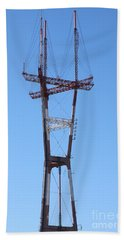Sutro Tower San Francisco California 5d28069 Beach Towel