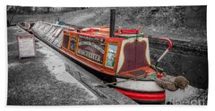 Swallow Canal Boat Beach Towel