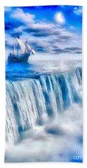 Swallow Falls Beach Towel
