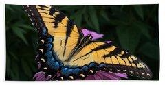 Swallowtail  Beach Sheet by Don Spenner