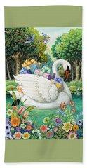 Swan Boat Beach Sheet