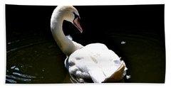 Swan Lake Beach Towel
