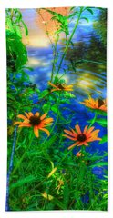 Sweet And Daisy Beach Towel