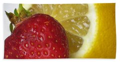 Beach Towel featuring the photograph Sweet And Sour by Nina Silver