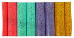 Sweet Colors Beach Towel