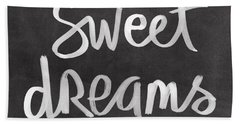 Sweet Dreams Beach Towel by Linda Woods