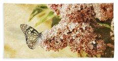 Sweet Lilacs Beach Towel