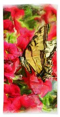 Sweet Swallowtail Beach Towel
