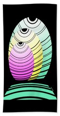 Swim Swim  Beach Towel by Christine Fournier