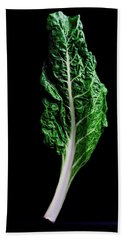 Swiss Chard Beach Towel