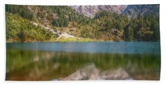Swiss Tarn Beach Towel