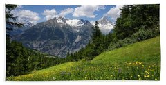 Switzerland Bietschhorn Beach Towel