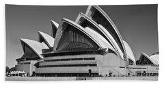 Sydney Opera House Beach Sheet by Venetia Featherstone-Witty