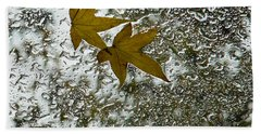 Symbols Of Autumn  Beach Towel