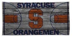 Syracuse Orangemen Beach Towel