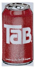 Tab Ode To Andy Warhol Beach Towel