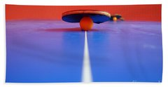 Table Tennis Beach Towel
