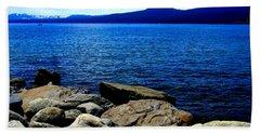 Beach Towel featuring the photograph Tahoe Magic by Bobbee Rickard