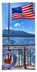 Tahoe Queen Lake Tahoe By Diana Sainz Beach Sheet