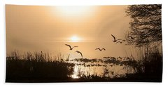 Taking Flight Beach Towel