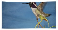 Taking Flight Beach Towel by Peggy Hughes