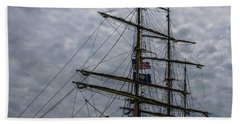 Sailing The Clouds Beach Towel by Dale Powell