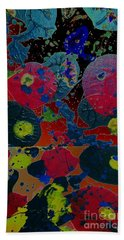 Beach Towel featuring the painting Tangent by Jacqueline McReynolds
