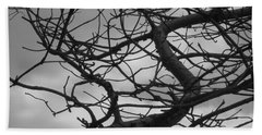 Tangled By The Wind Beach Towel