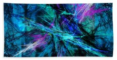 Tangled Web Beach Sheet by Sylvia Thornton