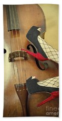 Tango For Strings Beach Towel