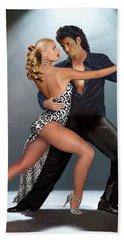 Tango - The Passion Beach Towel by Glenn Holbrook