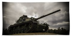 Tank World War 2 Beach Towel