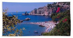 Taormina Beach Beach Towel
